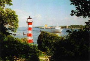 Rissener Leuchtturm – Schönste Aussicht in Wittenbergen (Foto: Ursula Lenecke)