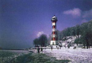 Der Strand von Wittenbergen im Winter (Foto: Inge Menzel)